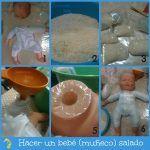 Como hacer un bebé salado