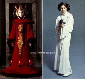 Aquí las nuevas heroínas de mis peques Padme y Leia