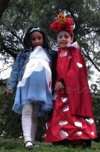 alicia y reina roja