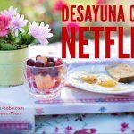Pareja: Desayuna con Netflix